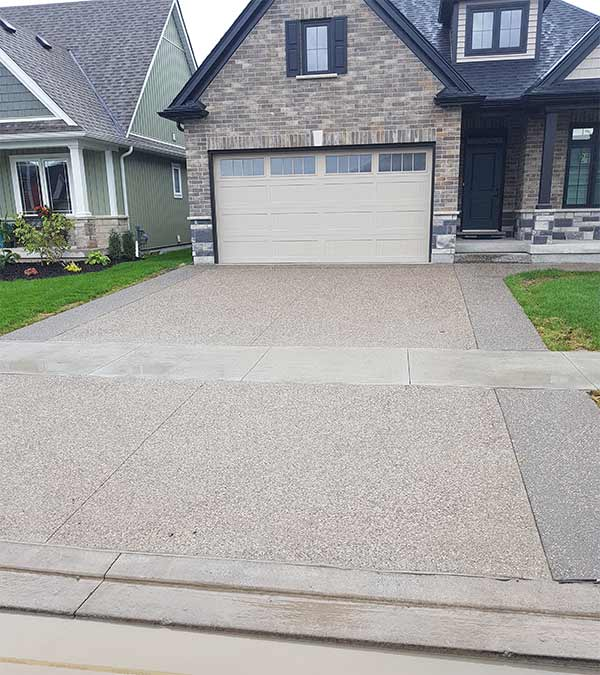 Concrete Driveway St Catharines