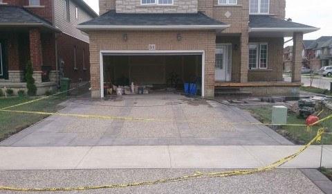 concrete driveway design